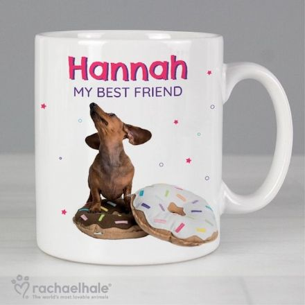 Personalised Rachael Hale Mug  - I Donut Know